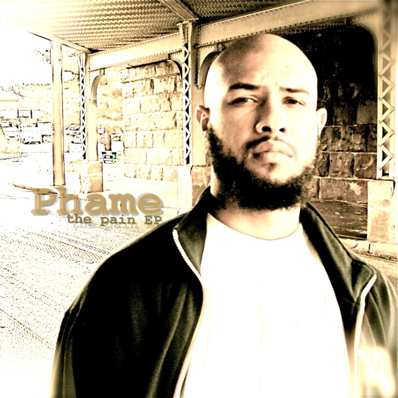 "Phame ""The Pain"" EP Cover by R. L'Abbee"