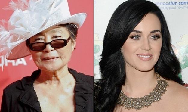 "Yoko Ono Sings Katy Perry's ""Firework"""