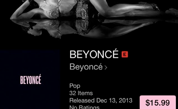 Beyonce Releases A Secret Album to iTunes