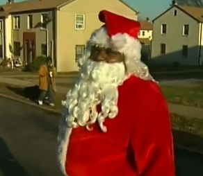 Black Santa Gets Shot in the 'Hood